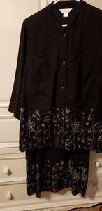 Cj banks Blazer and skirt